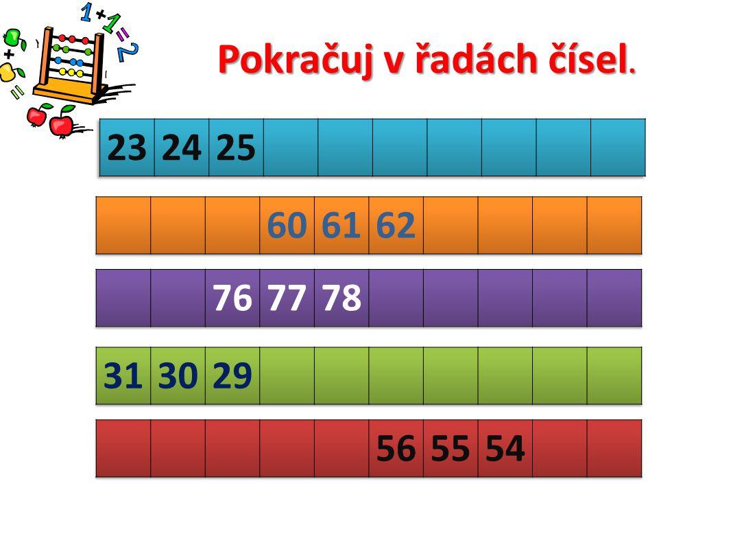 47125463283775147752 5615742181933852199 Zapiš čísla v pořadí od největšího k nejmenšímu.