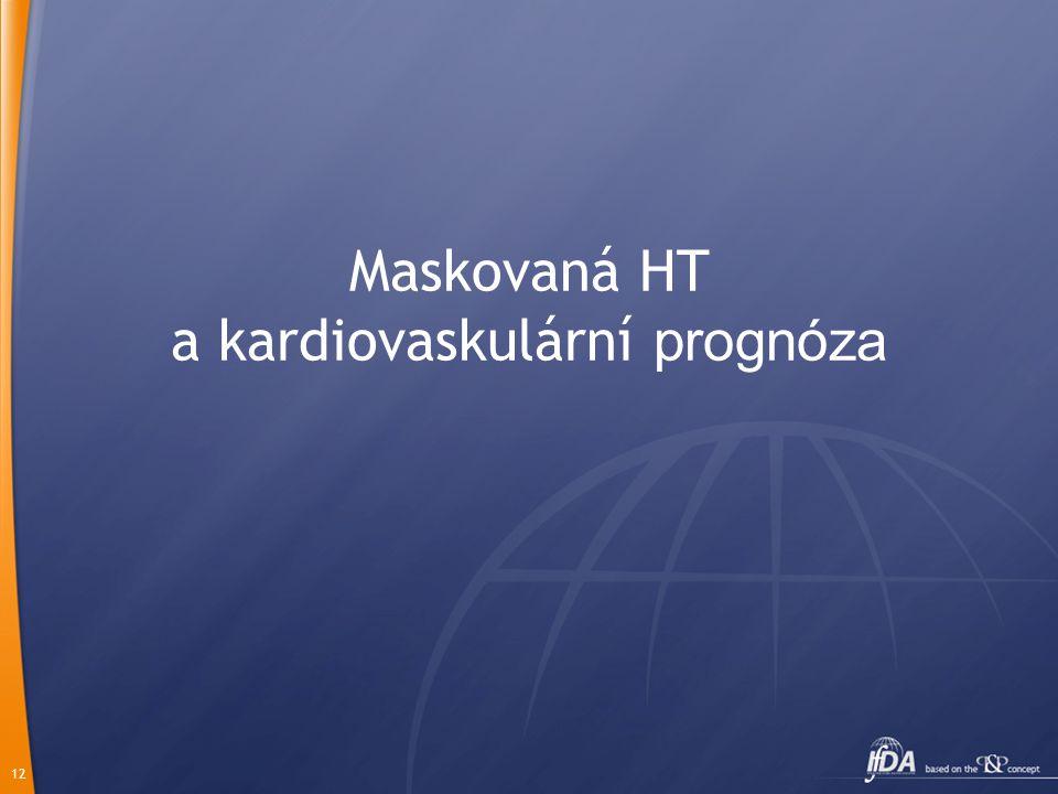 12 Maskovaná HT a kardiovaskulární prognóza