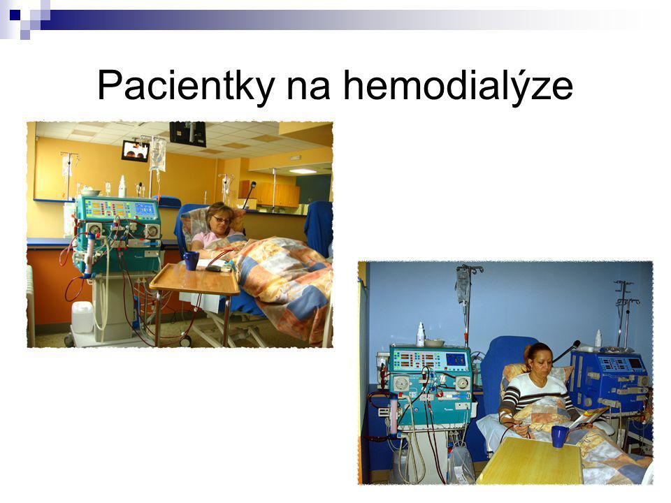 Pacientky na hemodialýze