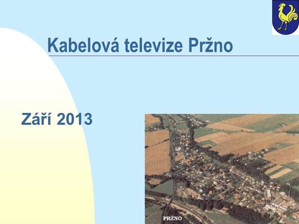 Kabelová televize Pržno Září 2013