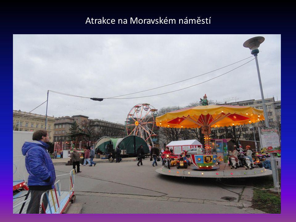Pohled na vstupní část Moravského náměstí