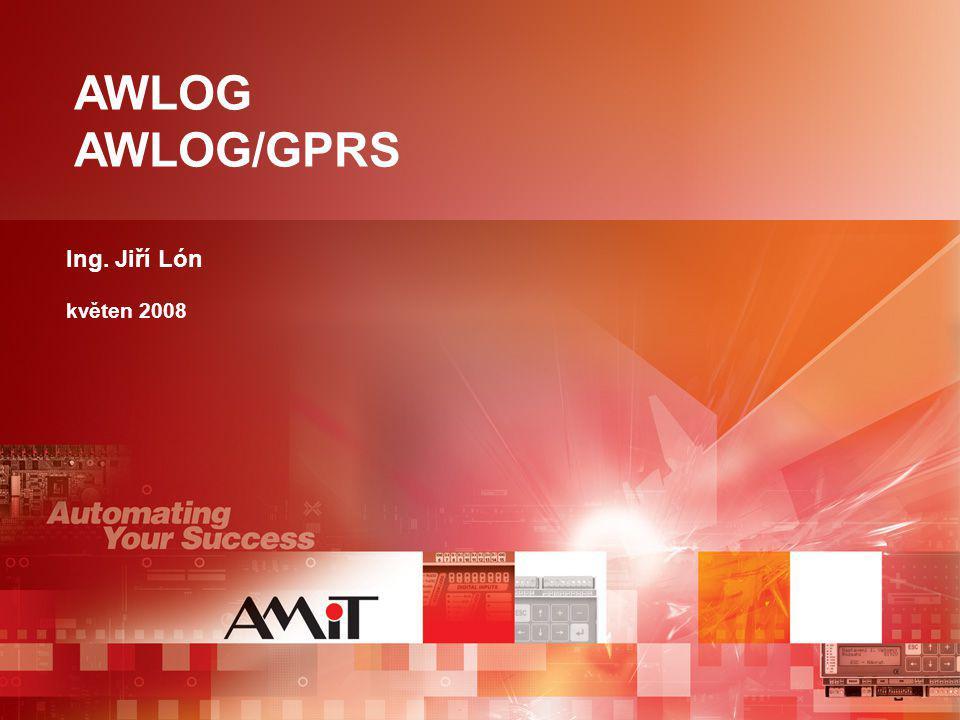 AWLOG, AWLOG/GPRS - charakteristika  sběr dat ze sítí DB-Net ®, DBNet ® /IP  archivace dat (data logger) - interní disk 2MB - SD karta  přístup k datům - WEB server - FTP server - souborový systém, SD karta  parametrizace v prostředí AWDet
