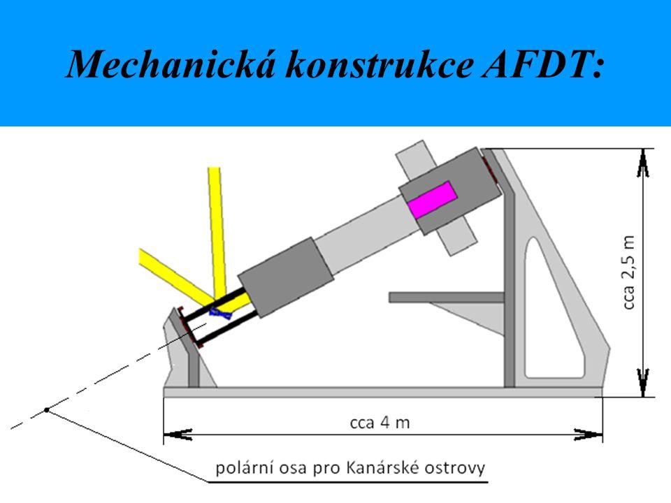 Mechanická konstrukce AFDT: