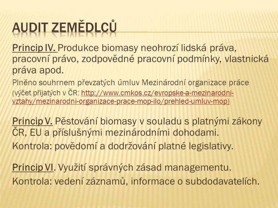 Princip IV.
