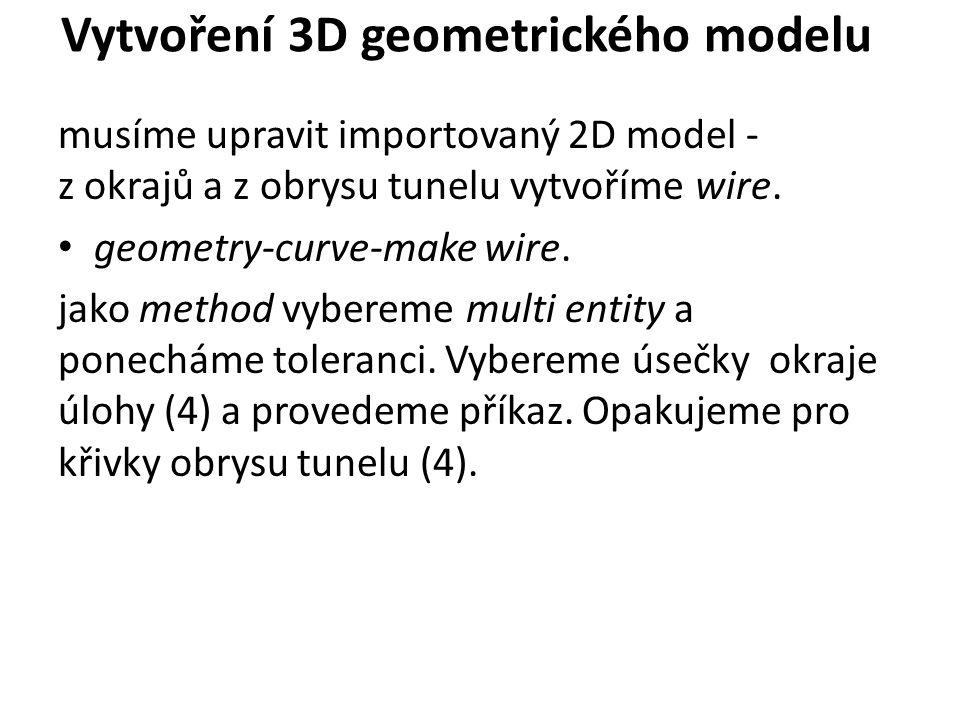 Protažení modelu do 3 osy 1) geometry-generator feature-extrude.