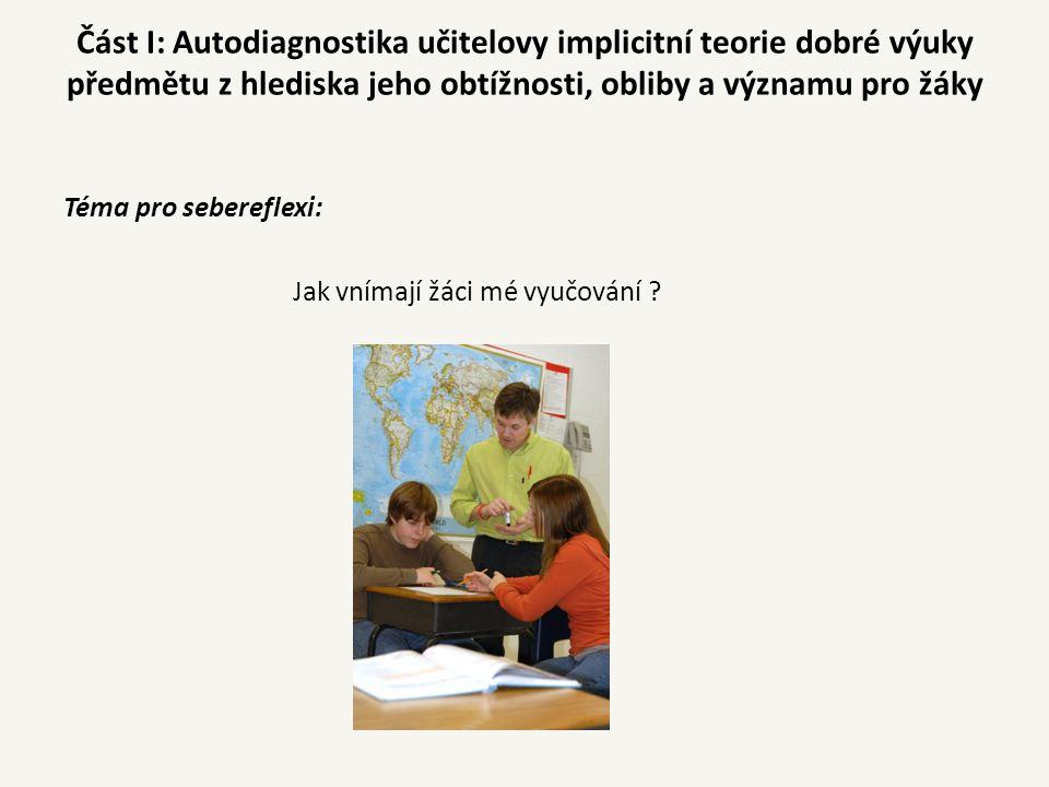 Příklad: učitel fyziky - třída 8.B žáciprůměrkvartil 1.3.