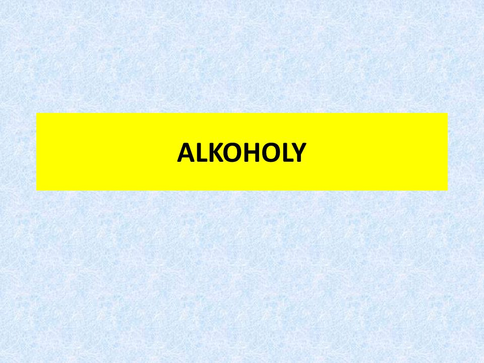VLASTNOSTI ALKOHOLŮ Stálost alkoholů – vzhledem ke struktuře molekuly: pokud je hydroxylová skupina vázána na uhlíkovém atomu, z něhož vychází násobná vazba (Erlenmayerovo pravidlo) – dochází k uplatnění keto-enolové tautomerie a rovnováha je posunuta ve prospěch ketoformy (dochází k molekulárnímu přesmyku) pokud je na jednom uhlíku větší počet hydroxylových skupin – dochází k odštěpení molekul vody za vzniku karbonylových sloučenin