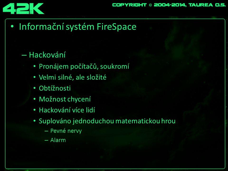 Informační systém FireSpace – Jukebox