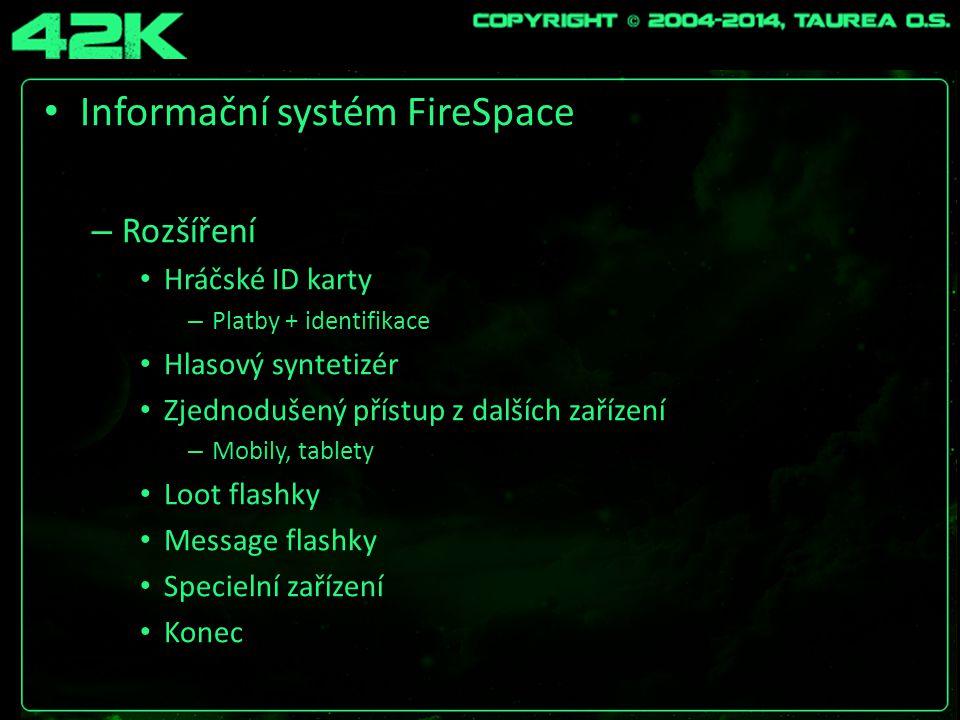 Informační systém FireSpace – Hackování