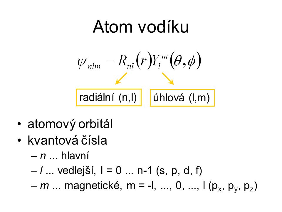 Hartre-Fock method (HF) Electron correlation Configuration Interaction (CI) Coupled Clusters (CC) Perturbation Theory (PT, MP) Semiempirical methods (NDO, AM1, PM3) Extended Hückel Theory Hückel MO Non-interacting electrons Additional approximation