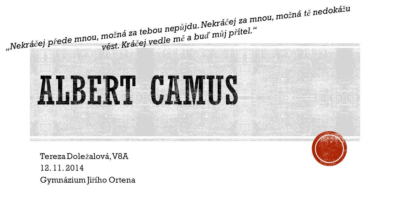 Tereza Dole ž alová, V8A 12. 11.