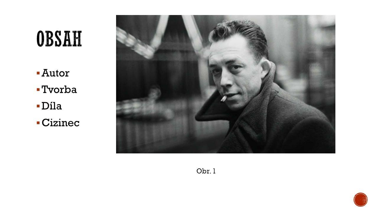  Francouzský spisovatel, dramatik, filosof  1913 – 1960 (autonehoda)  P ů vodem z Al ž írska  -> Pa ř í ž : deník Paris Soir  B ě hem 2.