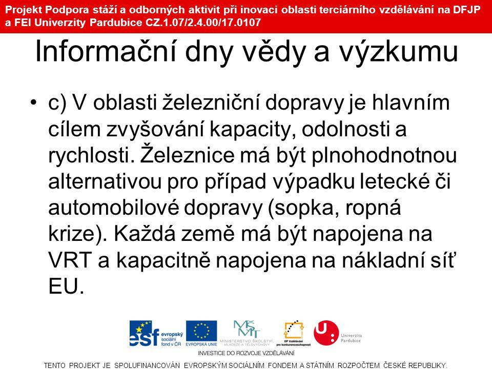 16 Nákladní koridory a ČR V4, Hraniční zámek, 20.–21.