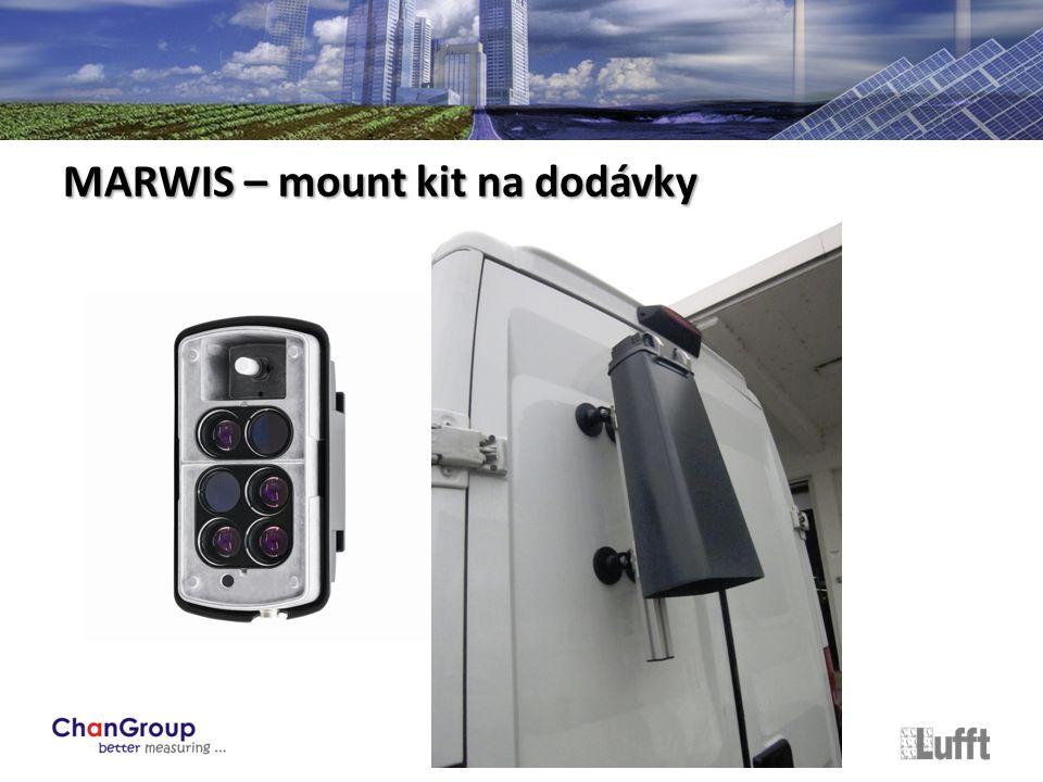 MARWIS – mount kit na dodávky