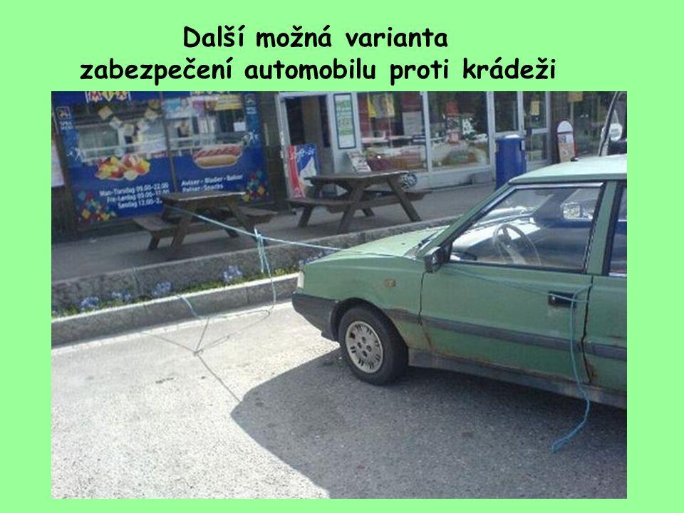 Jak zabezpečit automobil proti odcizení