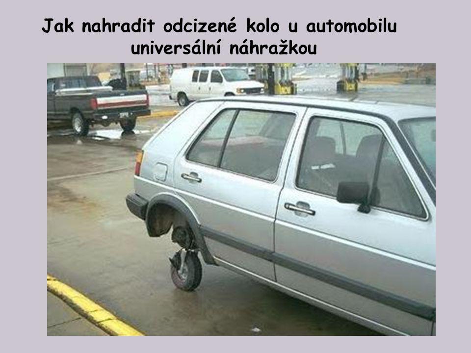 Jak se obejít bez odcizeného kola u auta značky Mazda 323