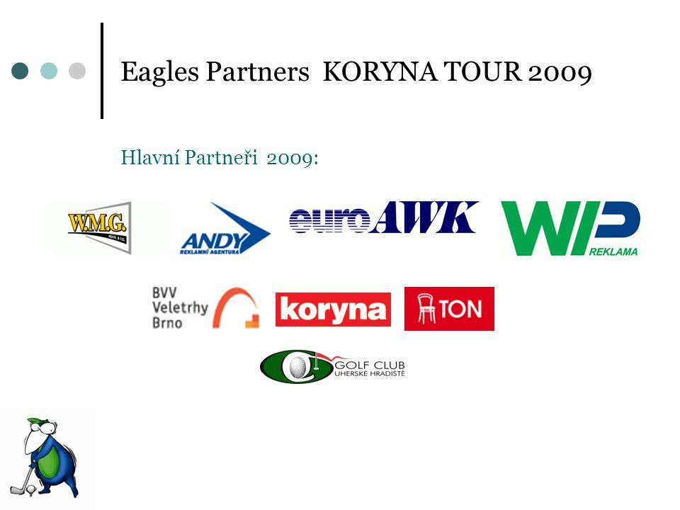 Eagles Partners KORYNA TOUR 2009 Hlavní Partneři 2009: