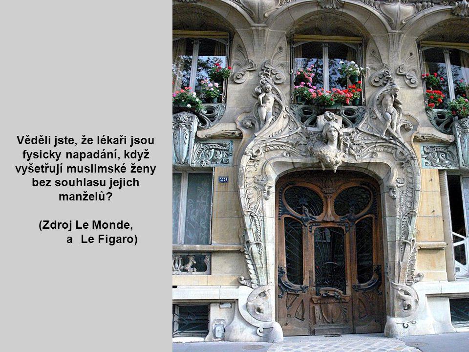Trocadero Věděli jste, že ve francouzských učebnicích budou vypuštěny všechny zmínky o Charlesu Martelovi nebo o Janě z Arcu, aby to neuráželo francou