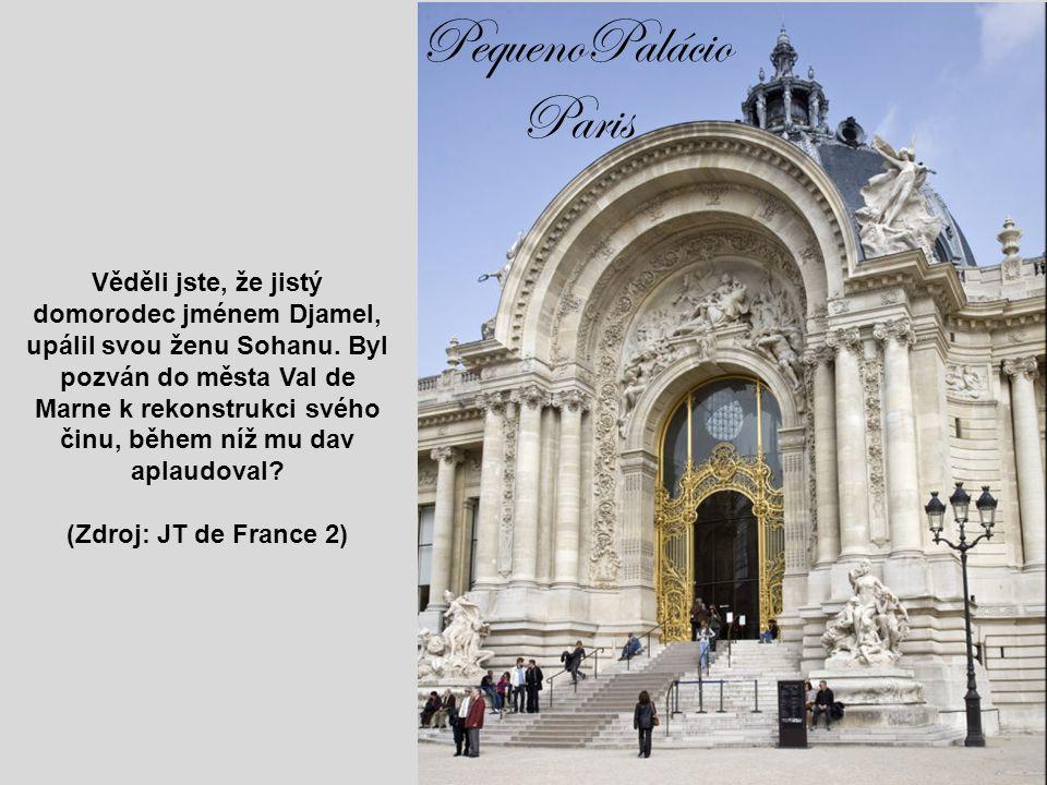 """Palác do Luxemburgo Věděli jste, že na frankoafrických fakultách v oblasti Magrebu (severní Afrika) jsou nápisy : """"Smrt Židům"""