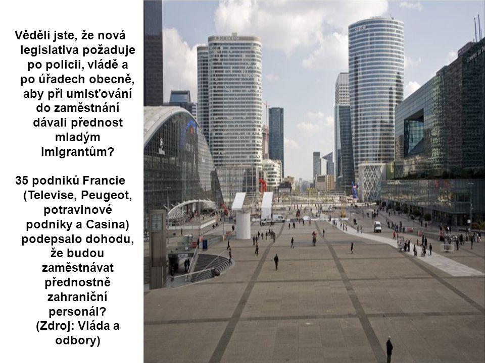 La Defense – Nova Paris Věděli jste, že hlídky muslimské milice hlídkují v ulicích Antuérpia a v jiných místech, aby