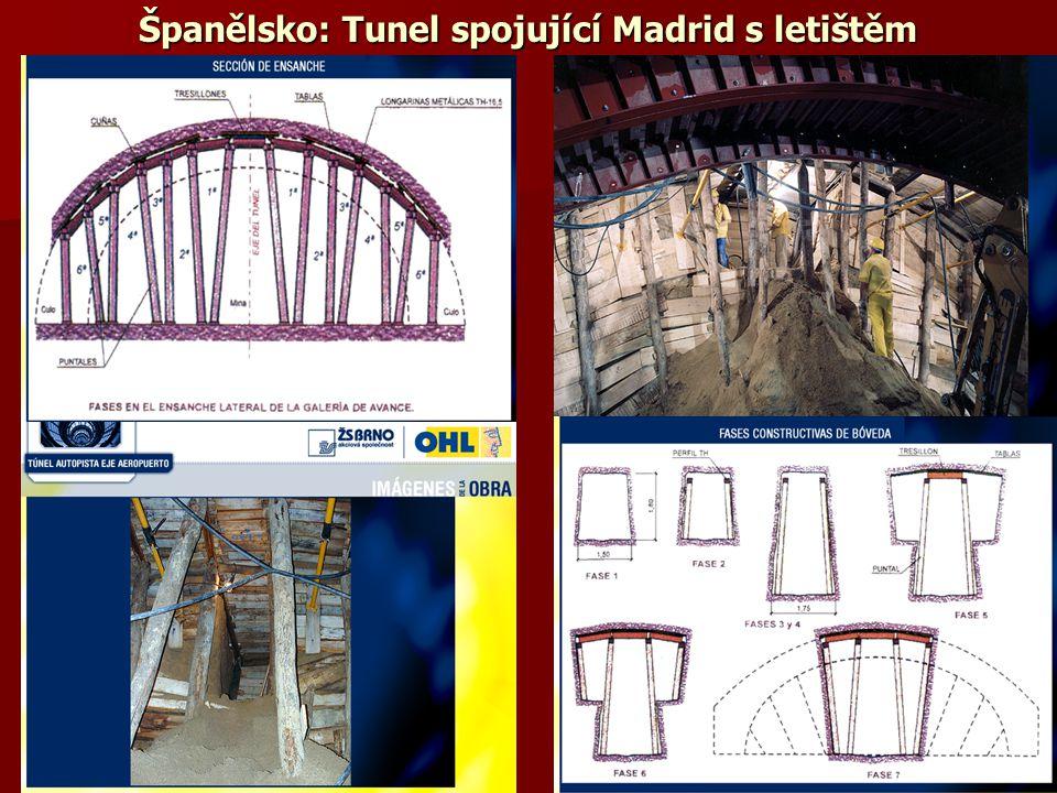 Španělsko: Tunel spojující Madrid s letištěm