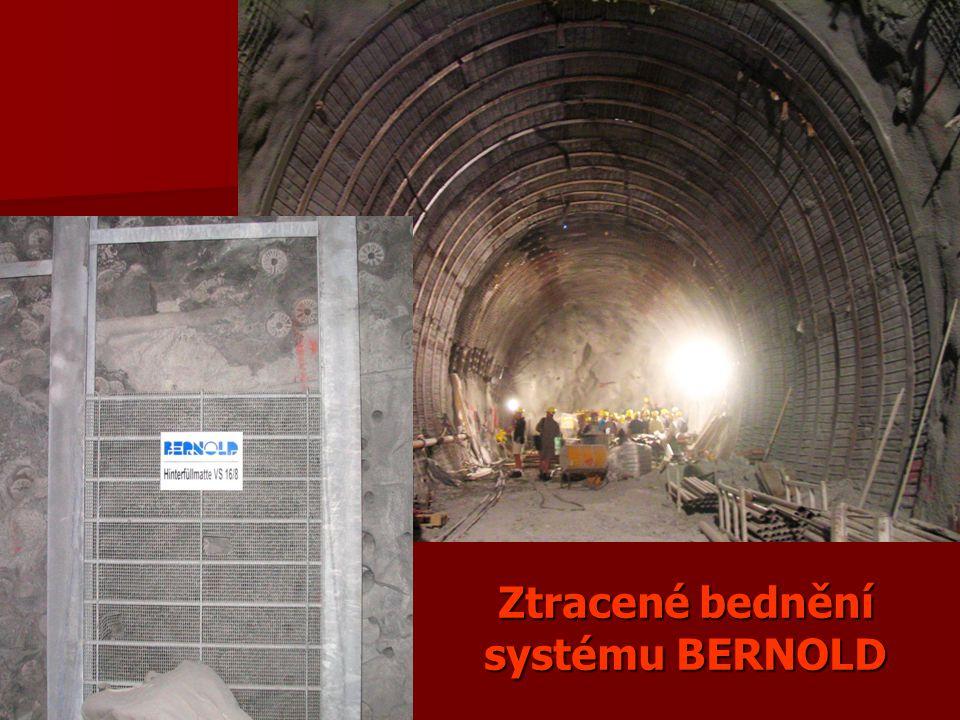 Ztracené bednění systému BERNOLD