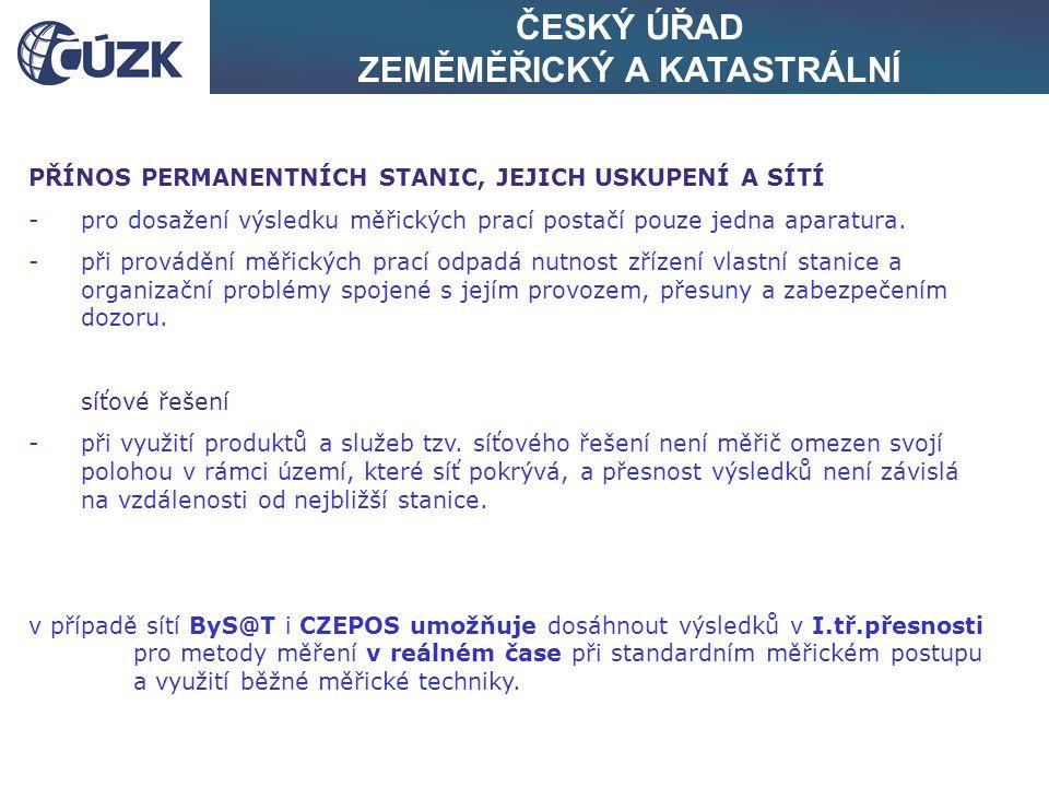 """ČESKÝ ÚŘAD ZEMĚMĚŘICKÝ A KATASTRÁLNÍ lokalita """"Praha"""