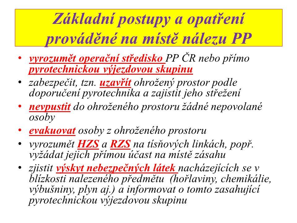 Jak postupovat při nálezu podezřelého předmětu ZP PP 53/2003ZP PP 53/2003 Vždy se chovejte tak, jako kdyby se jednalo o skutečný NVS.