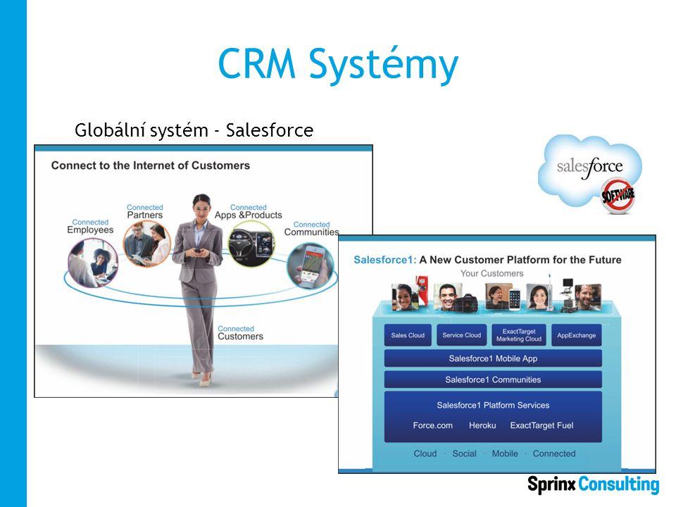 CRM Systémy Globální systém - Salesforce