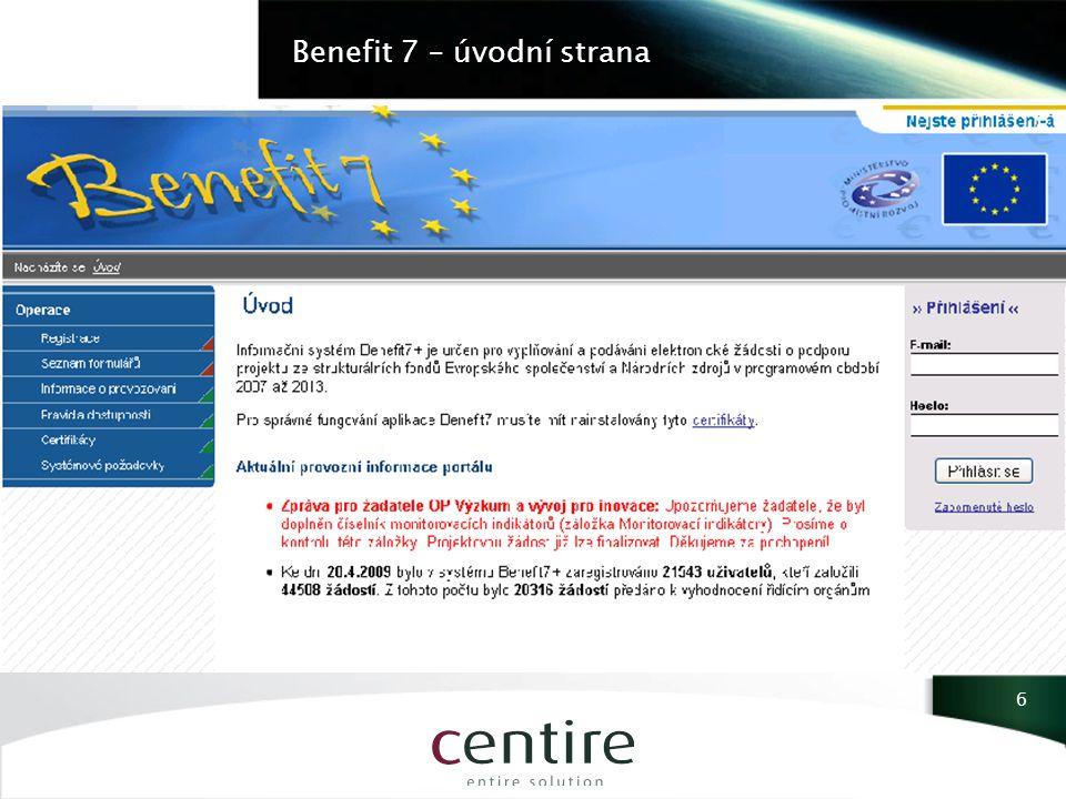 Benefit 1 7
