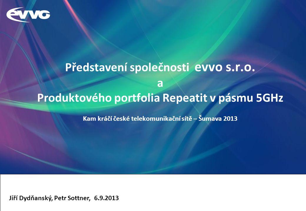 Představení společnosti evvo s.r.o.