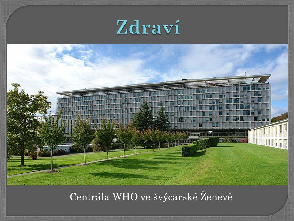 Centrála WHO ve švýcarské Ženevě