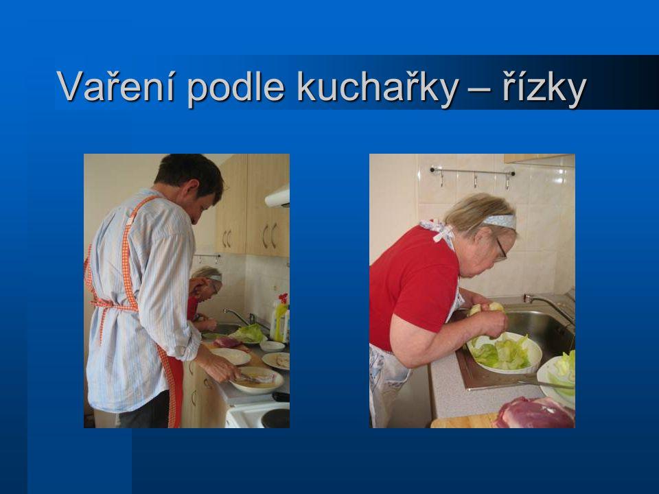 Vaření podle kuchařky – řízky
