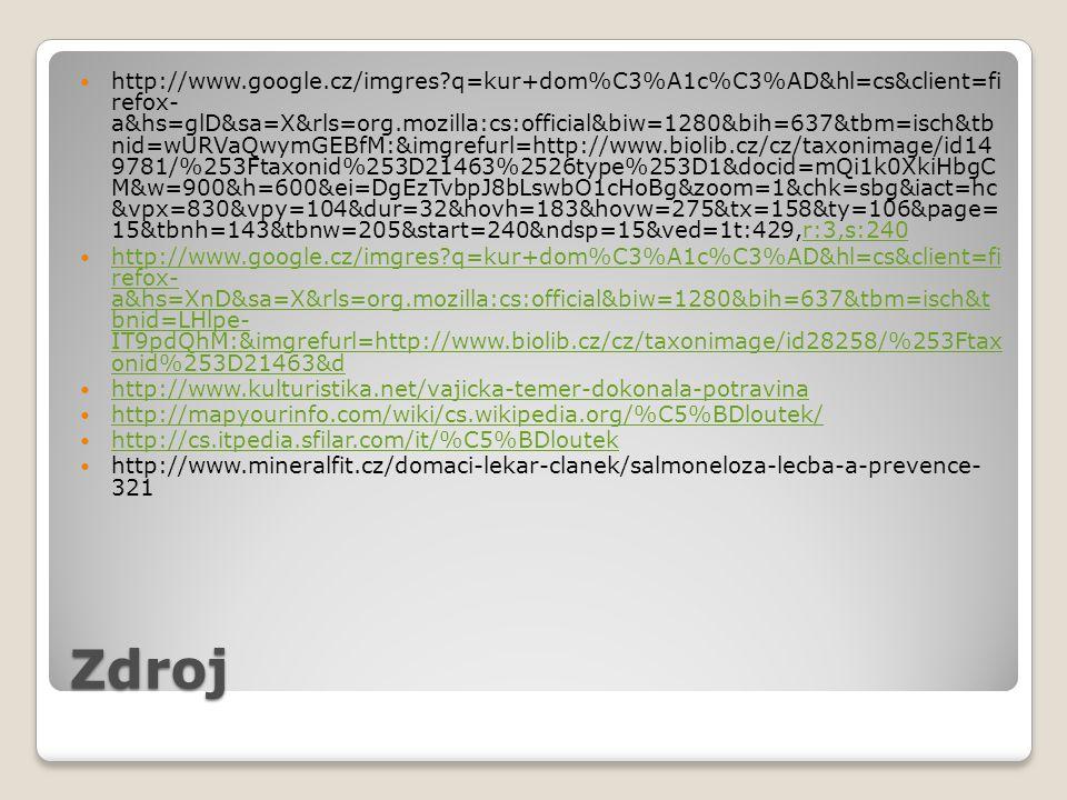 Zdroj http://www.google.cz/imgres?q=kur+dom%C3%A1c%C3%AD&hl=cs&client=fi refox- a&hs=glD&sa=X&rls=org.mozilla:cs:official&biw=1280&bih=637&tbm=isch&tb