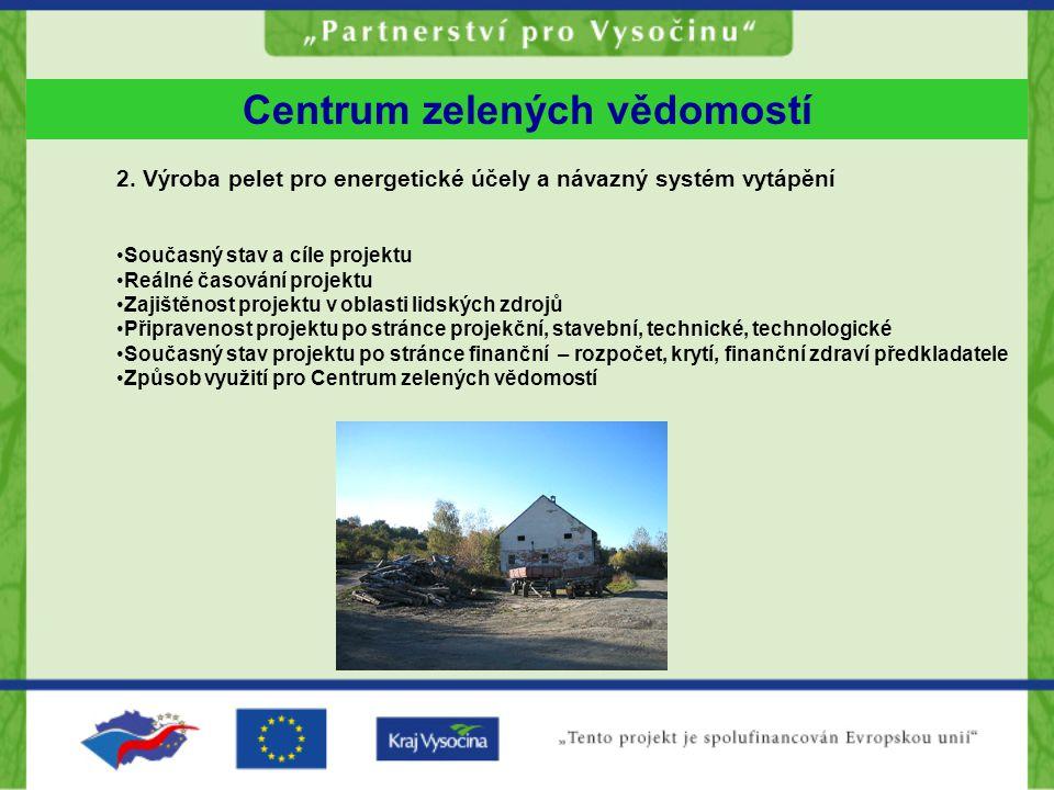 Centrum zelených vědomostí 2.
