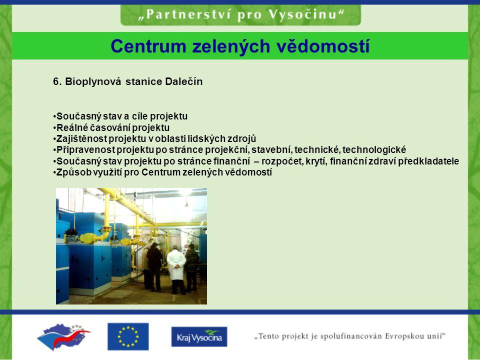 Centrum zelených vědomostí 6.