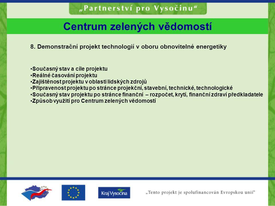 Centrum zelených vědomostí 8.