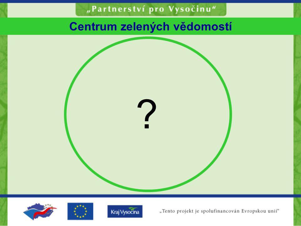 Centrum zelených vědomostí ?