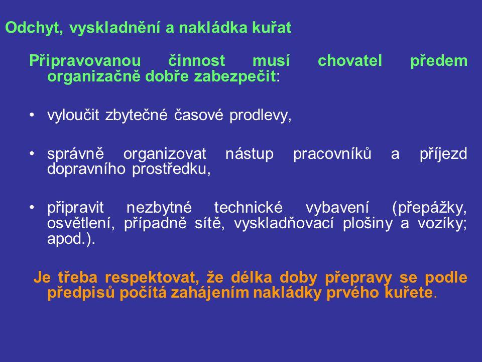 Dozor orgánu ochrany zvířat při přepravě Inspektoři příslušného dozorového orgánu ochrany zvířat (v ČR KVS, v zahraničí např.