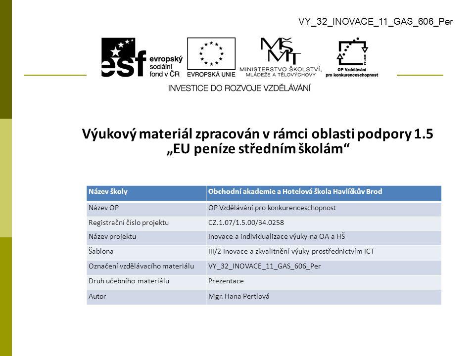 Použitá literatura a zdroje  SEDLÁČKOVÁ, Hana.