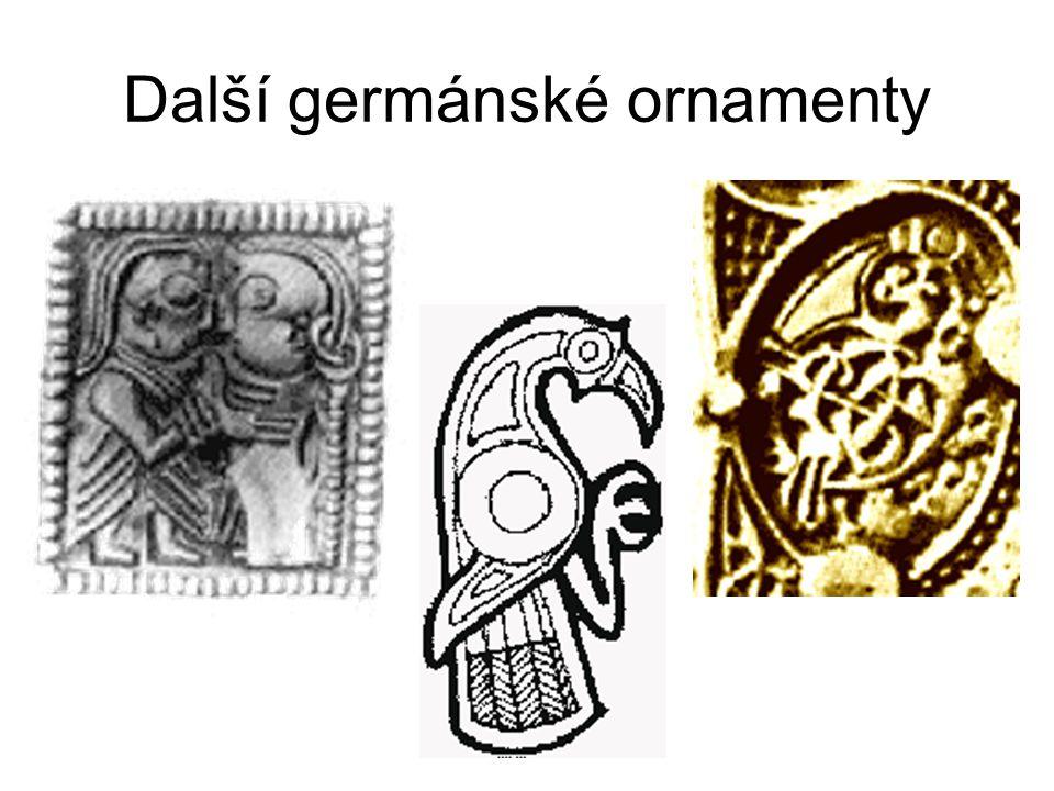 Další germánské ornamenty