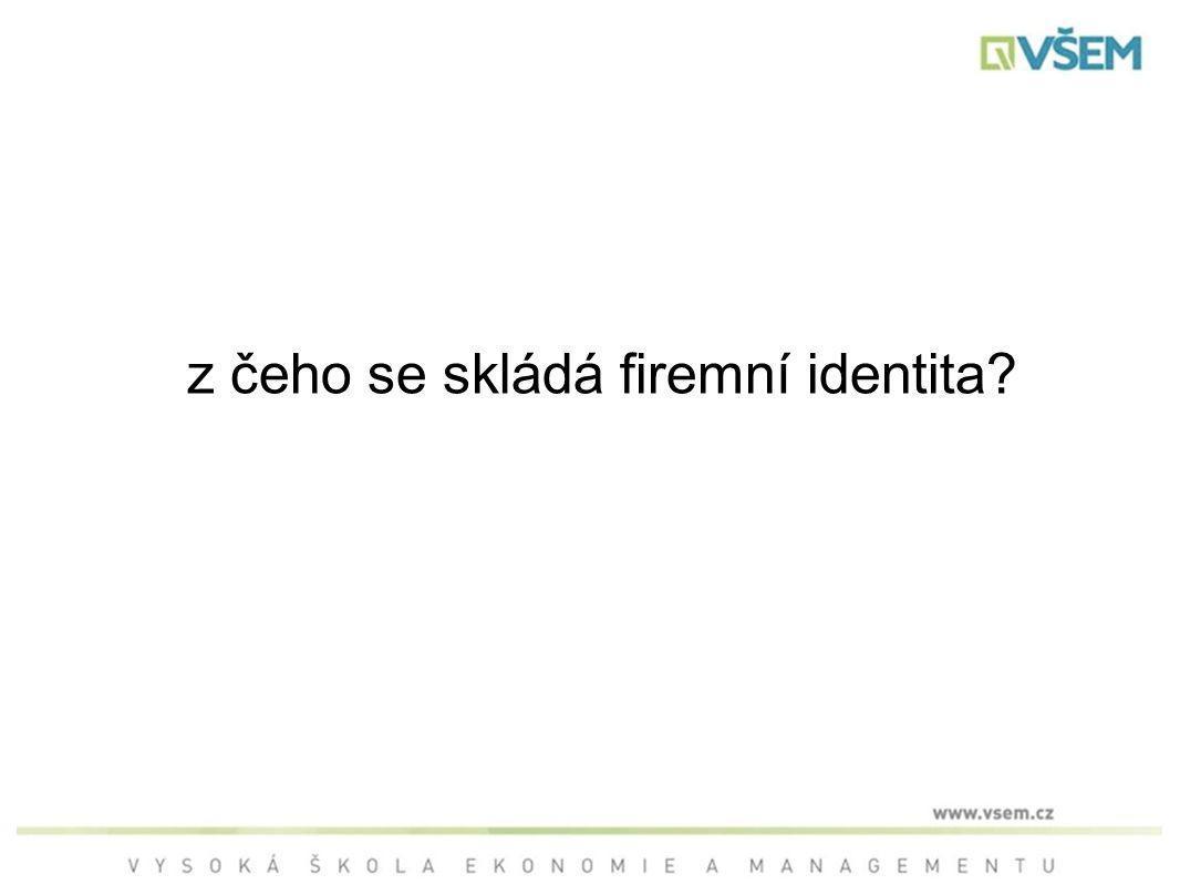 z čeho se skládá firemní identita
