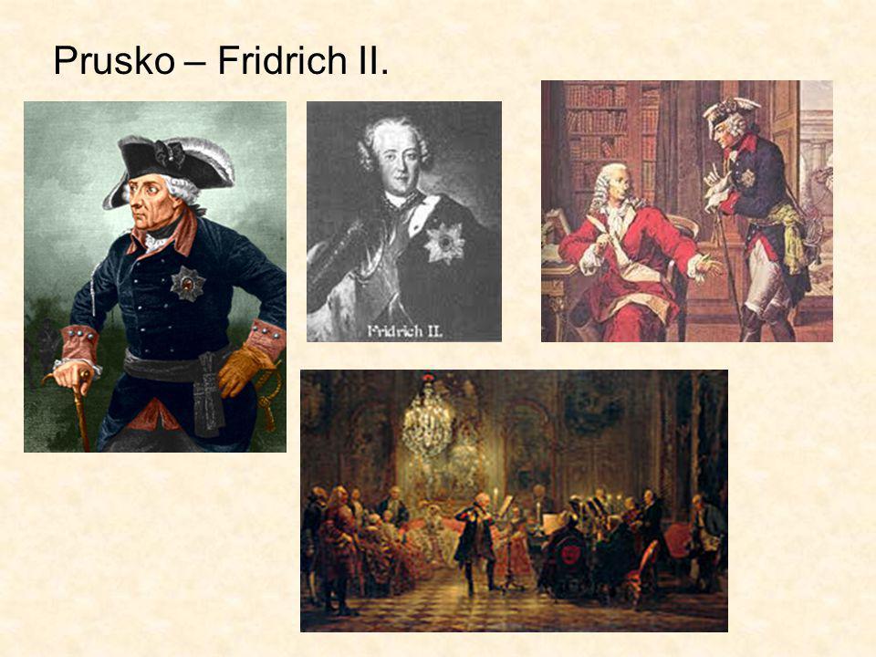 Prusko – Fridrich II.