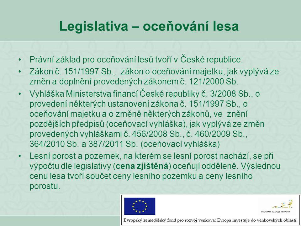 Pozn.: Vzhledem k tomu, že trvalé porosty jsou podle občanského zákoníku [§ 120 zákona č.