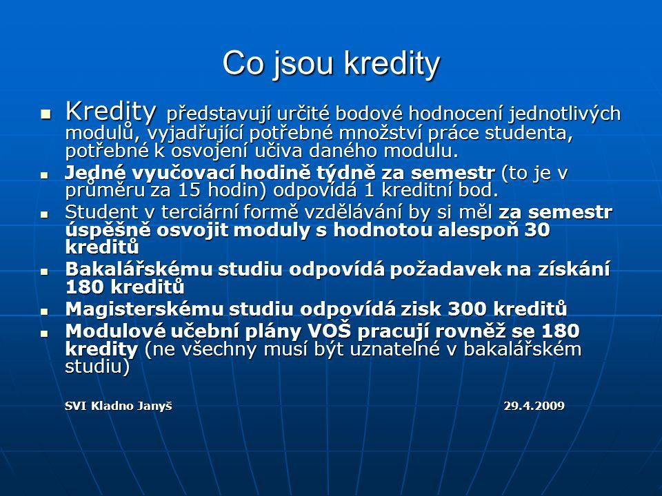 Co je ECTS.ECTS je Evropský systém přenosných kreditů.