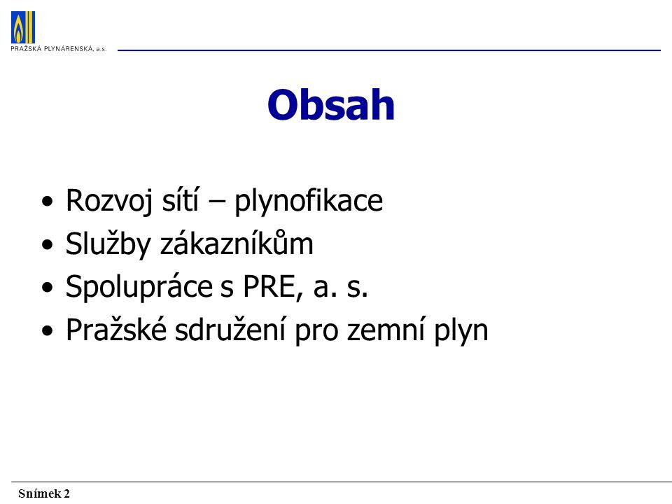 Snímek 33 Pražské sdružení pro zemní plyn