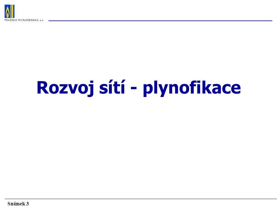 Snímek 4 V území vymezeném licencí pro Pražskou plynárenskou, a.