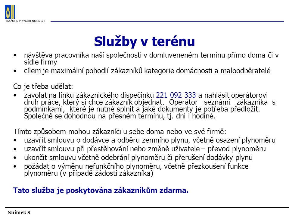 Snímek 19 Spolupráce s Pražskou energetikou, a. s.