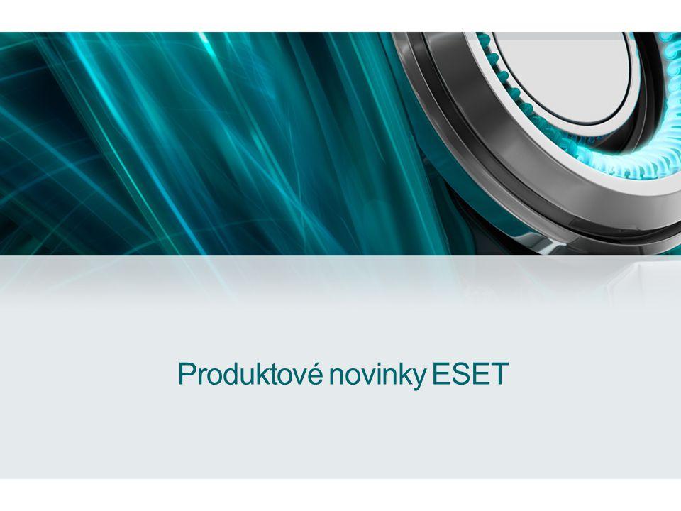 Produktové novinky ESET