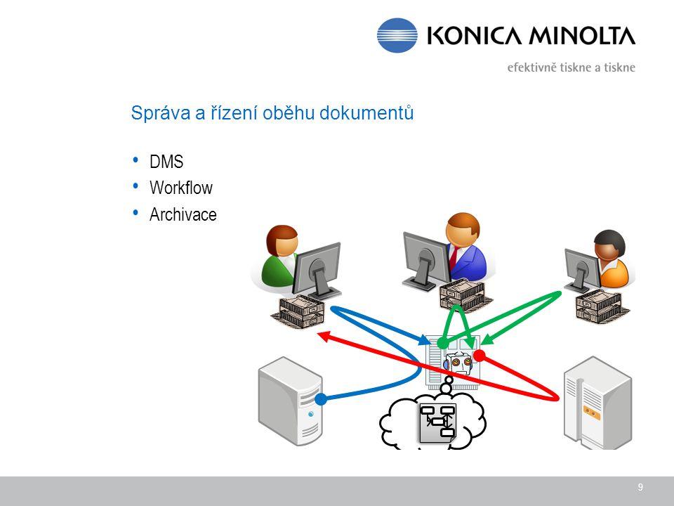 Správa a řízení oběhu dokumentů DMS Workflow Archivace 9